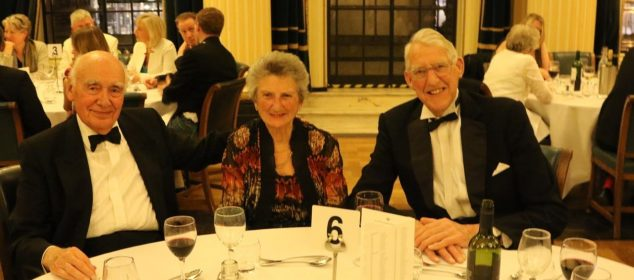Sir David White, Lady Valerie and Bryan Ford